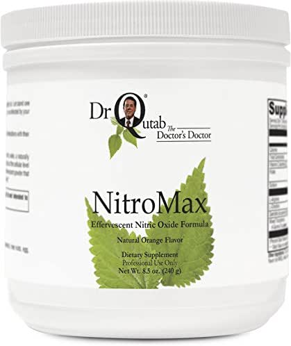 NitroMax by Dr Qutab The Doctor's Doctor - Peripheral Tissues, Men & Women's Reproductive Health, Lean Body Athletic Performance, Dilation of Blood Vessels, Healthy Flow of Blood, Healthy Mood, Memory