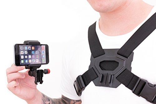 Chest Camera Compatible with Smartphones for HD Video