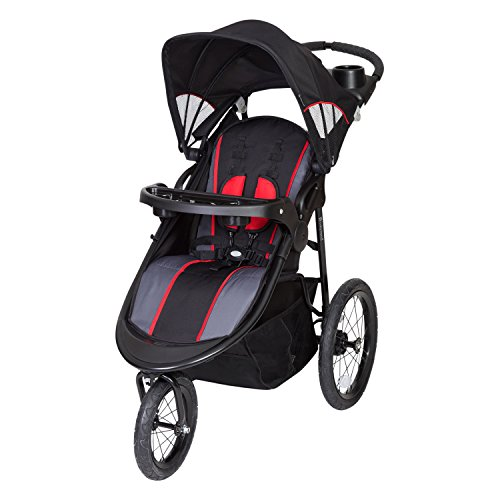 Baby Trend Pathway 35 Jogger Stroller, Optic Red