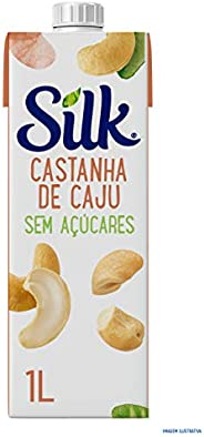 Bebida Vegetal Castanha de Caju Sem Açúcares Silk 1L