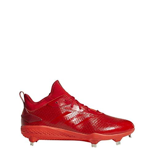 adidas Adizero Afterburner V Dipped Cleat - Men's Baseball 8.5 Hi Res Red/Scarlet/Solar Red by adidas (Image #6)