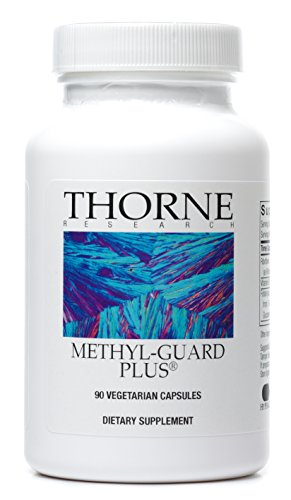 Thorne Research - Methyl-Guard Plus - Methylation Support Supplement with 5-MTHF (folate), B2, B6, and B12 - 90 Capsules