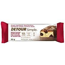 Simple Detour Protein Bars, Salted Caramel Cookie Dough, 1 Count