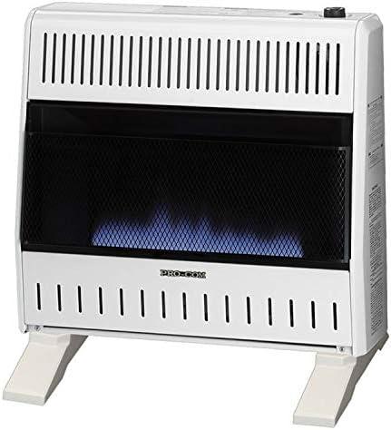 Pro Com Blue Flame Wall Heater