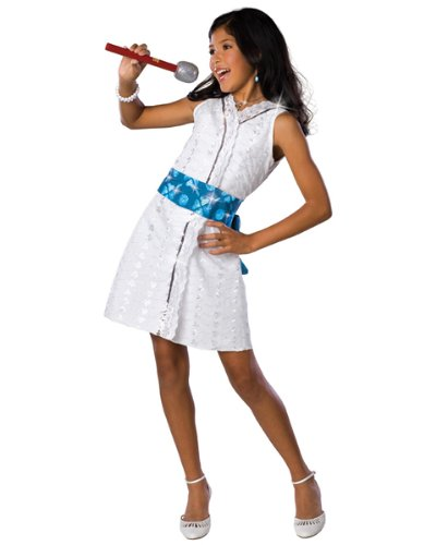 HIGH SCHOOL MUSICAL DELUXE GABRIELLA STAR DAZZLER ALL SIZES DISNEY COSTUME - Deluxe Gabriella High School Musical Child Costumes