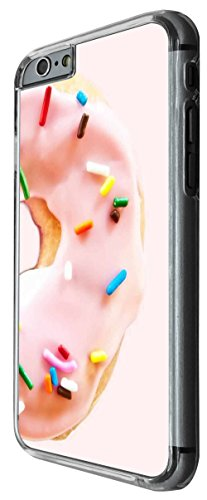 1225 - Yum Yum icing Sprinkle Doughnut Design For iphone 4 4S Fashion Trend CASE Back COVER Plastic&Thin Metal -Clear