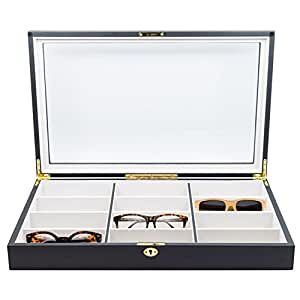 Amazon.com: 12 Piece Extra Large Ebony Wood Eyeglass