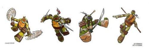 Teenage Mutant Ninja Turtles Temporary Tattoos - 25 Count]()