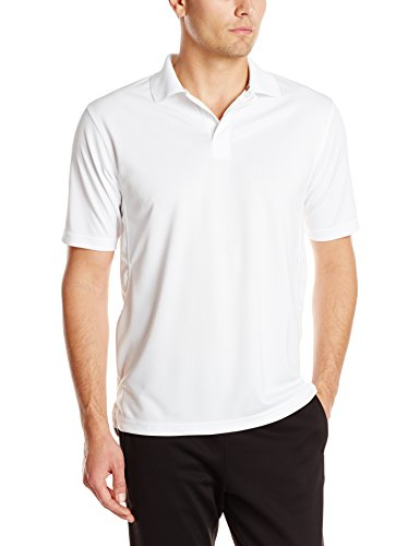 Champion Men's Ultimate Double Dry Performance Polo Cleaning Shirt - front