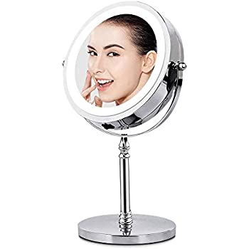 Amazon Com Magnifying Mirror With Lights Lighted Makeup