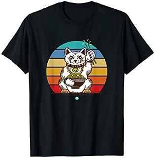 Ramen  Cat Tshirt Kawaii Anime Tee Japanese Gift T-shirt | Size S - 5XL