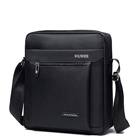 Color : Black//Small IANXI Home Mens Classic Mens Bag Messenger Bag Backpack Shoulder Bag Mens Casual Waterproof Oxford Cloth Bag Travel Business Bag Small Bag