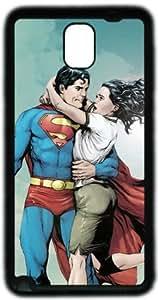 Superman Lois Lane Samsung Galaxy Note 3 N9000 Case, Soft Material TPU Black Skin Protector Cover DIY by Hahashopping