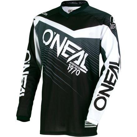O'Neal Youth Element Racewear Jersey (Black/Gray, X-Small)