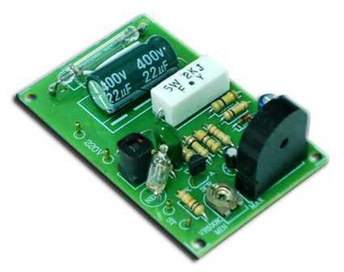 SOUND ACTIVATED XENON TUBE FLASHER Circuit Assembled