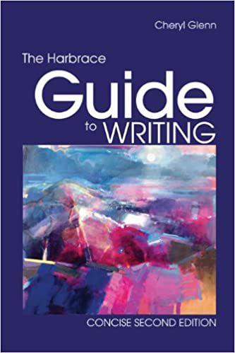 Amazon. Com: bundle: the harbrace guide to writing, concise, 2nd +.
