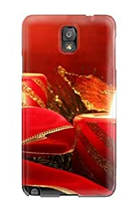 Fashionable ZYoCDem18HXKzb Galaxy Note 3 Case Cover For Attractive Christmas Candlelight Protective Case