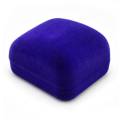 lyhhai Fashion Velluto Porta Anello di Fidanzamento Jewelry Box Orecchini Ciondolo Display di