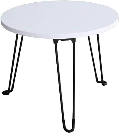 XXITXF Table Basse Pliante Table Basse en Fer forgé Mini ...
