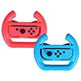 HDE Nintendo Switch Wheel Deluxe Joy-Con Steering Wheel Controller Attachments for Kart Racing Games (Red & Blue 2 pack) Review