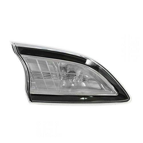 Inner Taillight Lamp Reverse Backup Light Driver LH for 10-13 Mazda 3 Hatchback ()