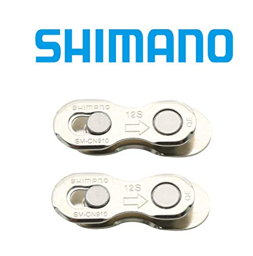 SHIMANO 12 Speed Chain Quick Link Connector SM-CN910 (2 Pairs) -
