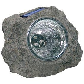 LAMPE SPOT CAILLOU SOLAIRE A LED ETANCHE POUR JARDIN: Amazon.fr ...
