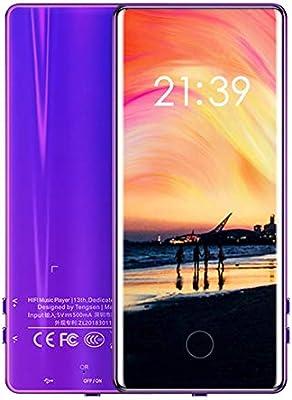 C18 Pantalla Completa Toque Mp5 Walkman Estudiante Mp4 Sin p/érdida Calidad de Sonido Mp3 Ultrafino Mp6 Conveniente Walkman