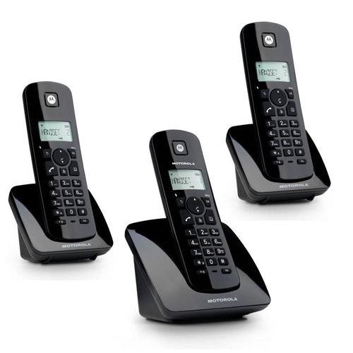 50 opinioni per Motorola C403E Trio Telefono Cordless, Nero