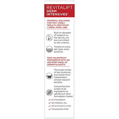 41uMcDffN8L - Pure Hyaluronic Acid Serum By L'Oreal Paris Skin Care I Revitalift Derm Intensives 1.5% Pure Hyaluronic Acid Anti-Aging Face Serum To Visibly Plump & Reduce Wrinkles I 1.0 Oz