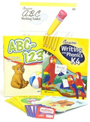 A Beka K4 Homeschool Child Full-Grade Kit (Cursive Edition) - Full Grade Kit