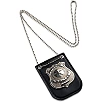 Dress Up America Pretend Play Police Badge With Chain And...