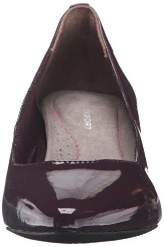 sale footlocker finishline Rockport Women's Kimly Kirsie Dress Pump Dark Vino Patent free shipping best place deals outlet newest OpqfBdPHiQ