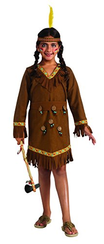 Drama Queens Native American Girl Costume, Large -