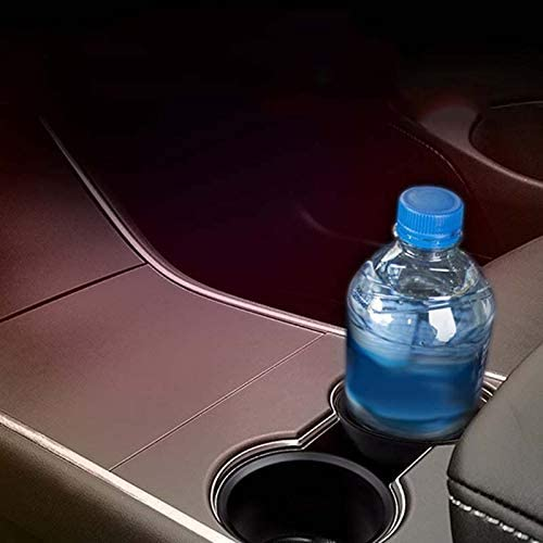 2St Adanse Wasser Tasse Halter Abdeckung Insert Expander Halter Cup Holder Einlagen Passen Die Meisten Flaschen Auto Zubeh?r f/ür Tesla Model 3 Mitte Konsole Tasse Halter