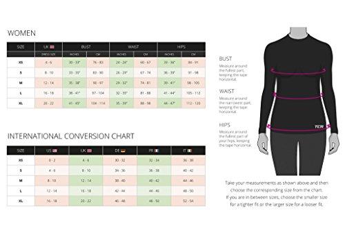 TCA Women's Lightweight Fusion QuickDry Long Sleeve Half-Zip Running Top