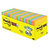 Post-it174; Super Sticky Notes - Assorted (24 Pads Per Box) Assorted