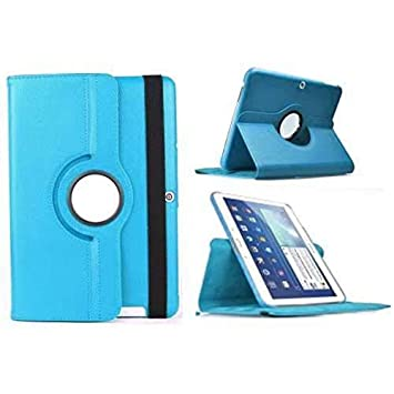 Todobarato24h Funda Tablet Compatible con BQ Aquaris M10 (10.1) giratoria 360º Celeste
