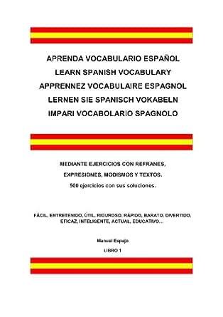 aprenda vocabulario espa ol spanish edition ebook