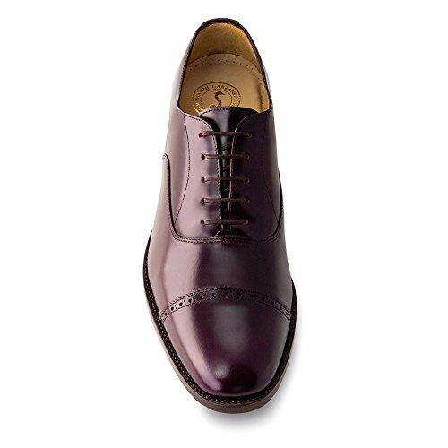Réhaussantes Modèle Chaussures Homme Semelle Masaltos Augmentant 7cm la Pour Bordeaux Peau Taille Fabriquées avec Denver en Jusqu'À F1pw6wqnx