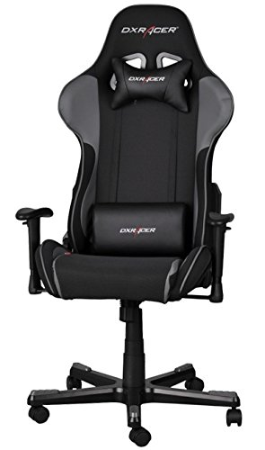 Remarkable Dxracer Fh11 Ng Black Gray Formula Series Racing Bucket Seat Office Chair Gaming Ergonomic With Lumbar Support Machost Co Dining Chair Design Ideas Machostcouk