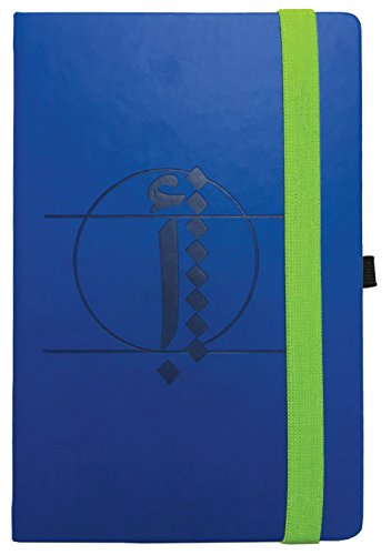 Cherrynote Large Ruled Hard Cover Notebook - Plada Arabic Alphabet Blue ()