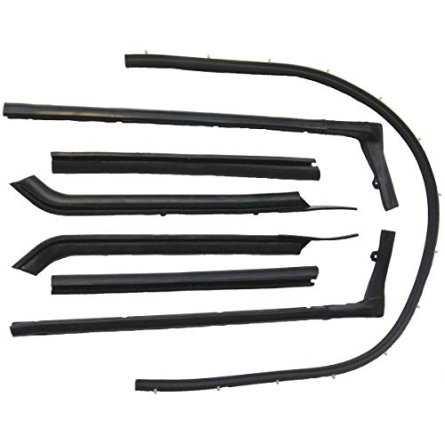 Steele Rubber Products - Convertible Roof Rail Kit - Sold and Priced as a Set - 82-0193-65
