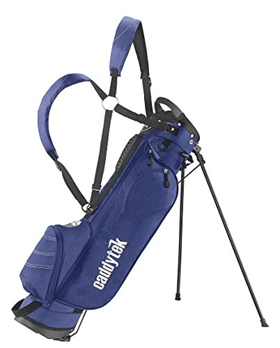 CaddyTek Deluxe Sunday Carry Bag with Stand - Blue by CaddyTek (Image #1)
