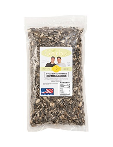 Lightly-Sea-Salted-Sunflower-Seed-In-Shell-by-Gerbs-4-LBS-Top-12-Food-Allergy-Free-Non-GMO-Premium-Dry-Roasted-Seeds–COG-USA