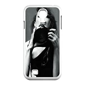 Samsung Galaxy S4 9500 Cell Phone Case White Angelina Jolie Black And White VIU032051