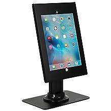 Mount-It! Tablet Stand Anti-Theft Kiosk Mount Apple iPad Pro 12.9 Holder Premium Articulating, Locking for Public Desk Displays Case Holder