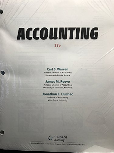 Accounting (Looseleaf)