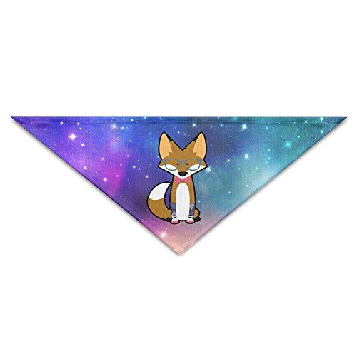Coolbis Bow Tie Fox with Sunglass and Stocking Sneaker Baby Pet Triangle Head Scarfs Dog Scarves Puppy (Wool Pet Stocking)