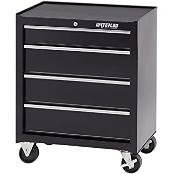 Amazon.com: Tenive Rolling Tool Cabinet Tool Chest 24 inch Wide 5 ...